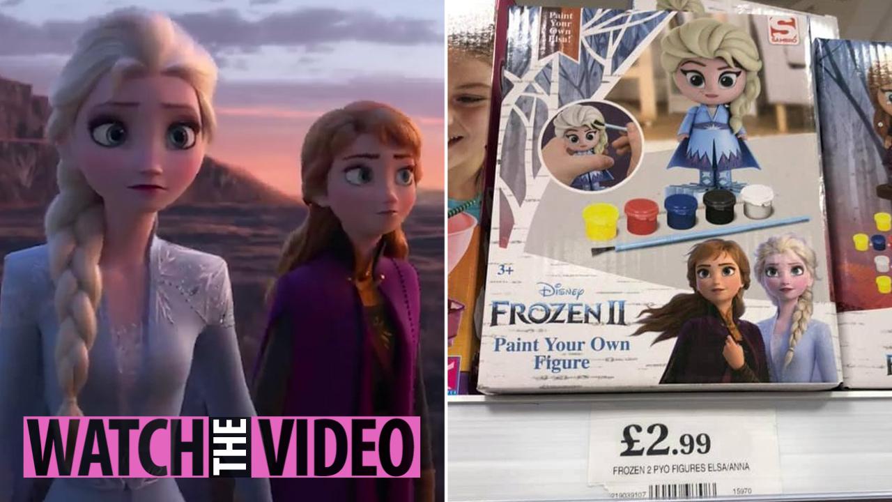 Anna and the Whole Crew 25 Pc Stickers Savvi Disney Frozen Elsa