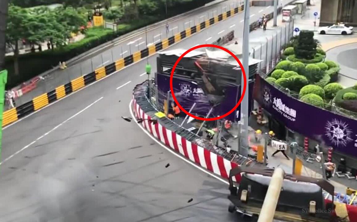 Video: Five injured in shocking Formula 3 crash in Macau