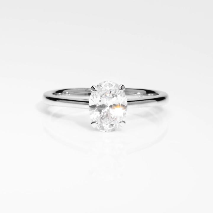 Paragon Oval Diamond Engagement Ring