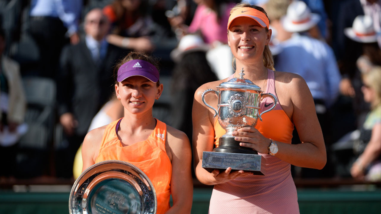 Maria Sharapova - Simona Halep, final 2014: highlights - Roland-Garros -  The 2020 Roland-Garros Tournament official site
