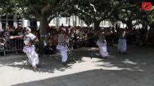 Música y color en El Espolón gracias al Festival de Folclore 'Ciudad de Burgos'