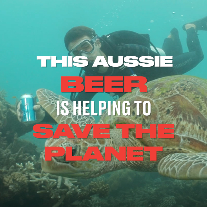 Australian Beer Company Releases Beer That Will Help Save The Planet