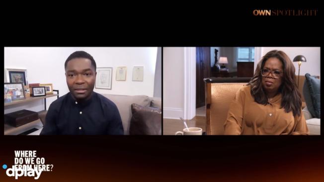 David Oyelowo til sin søn: 'Glem retfærdighed. Kom hjem i live!'