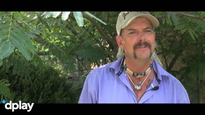 Joe Exotic var i virkeligheden hunderæd for sine store katte