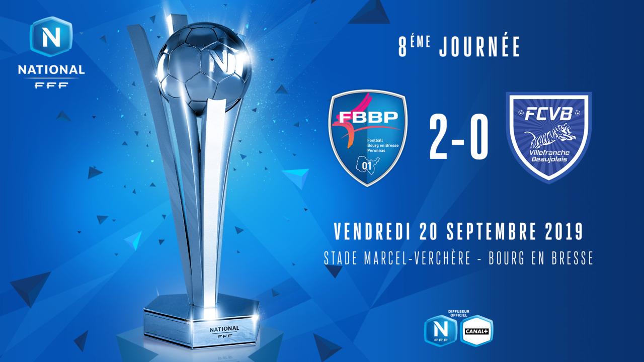 J8 I Bourg-Peronnas - FC Villefranche Beaujolais (2-0)