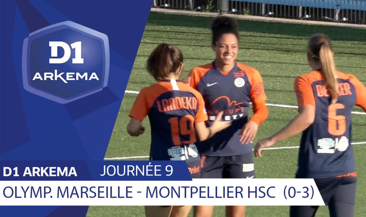 J9 : Olympique de Marseille - Montpellier HSC (0-3)