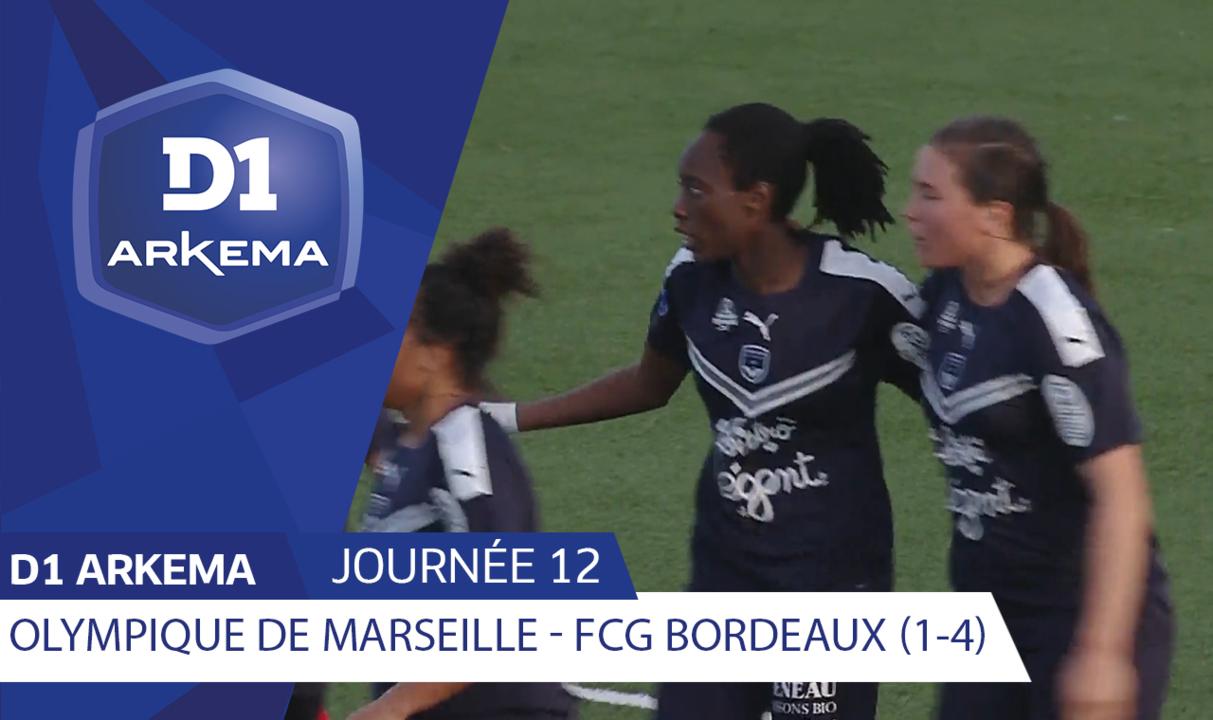 J12 | Olympique de Marseille - Girondins de Bordeaux (1-4)