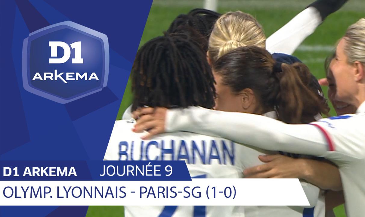 J9 | Olympique Lyonnais - Paris Saint Germain (1-0)