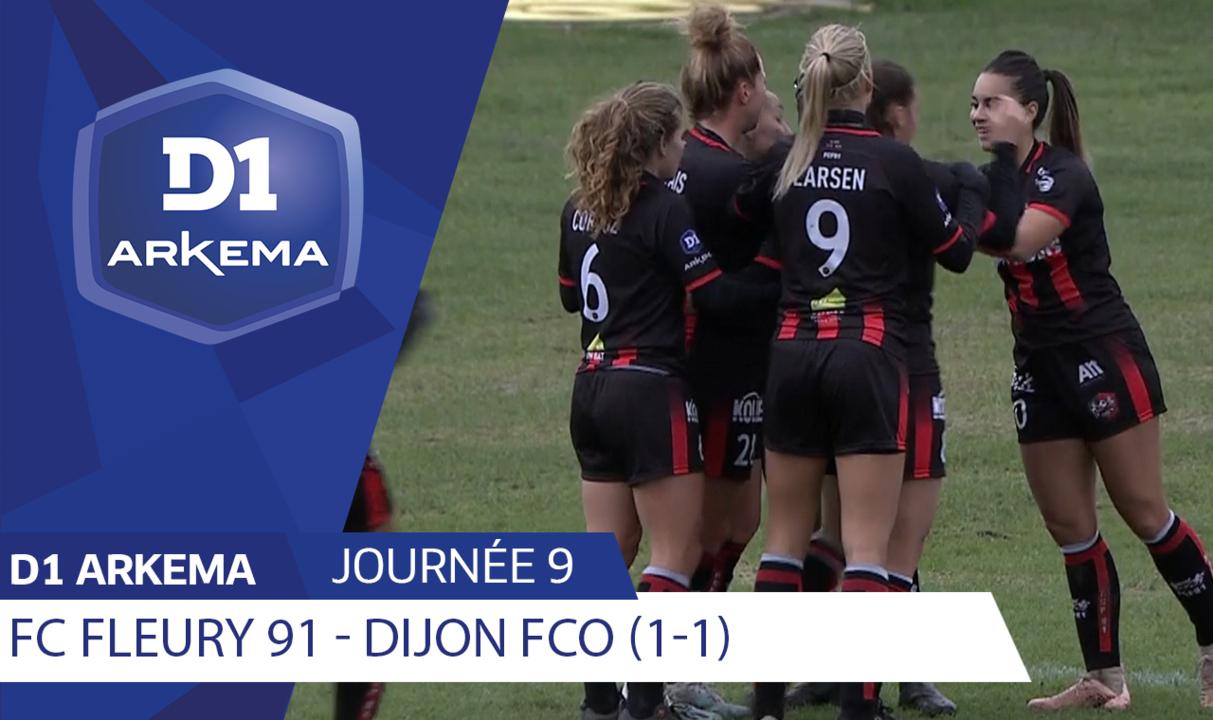 J9 | FC Fleury 91 - Dijon FCO (1-1)