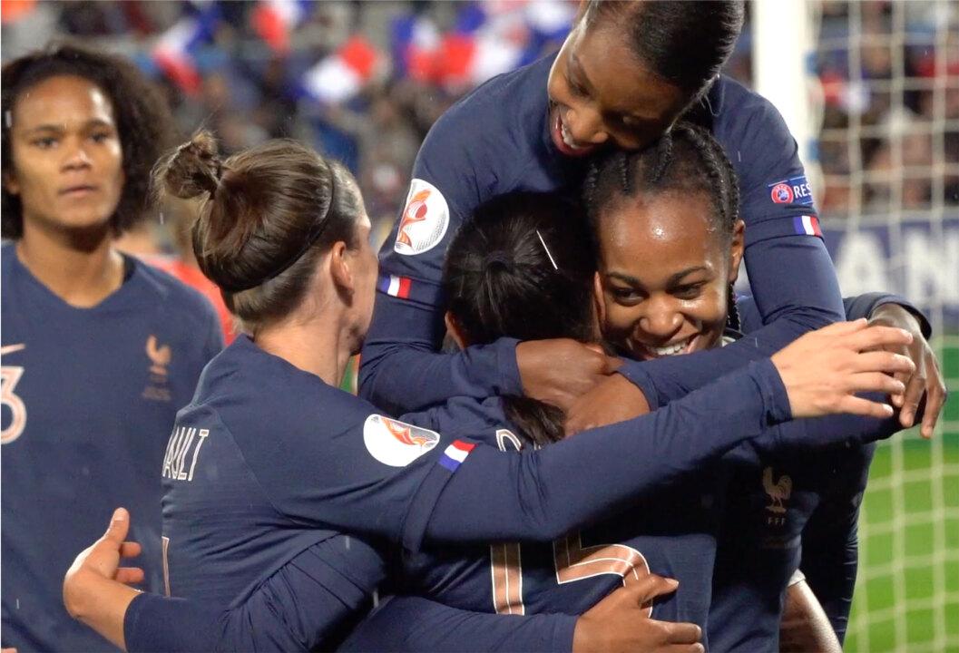 Les buts de France-Serbie, 6-0