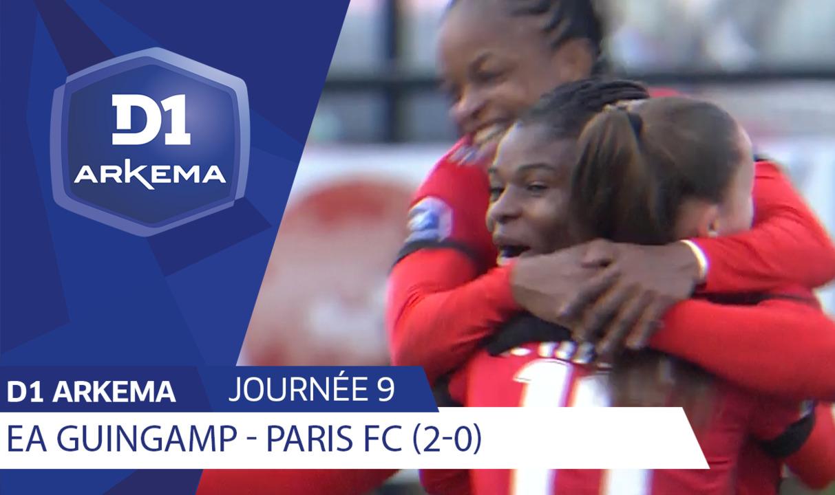 J9 | EA Guingamp - Paris FC (2-0)