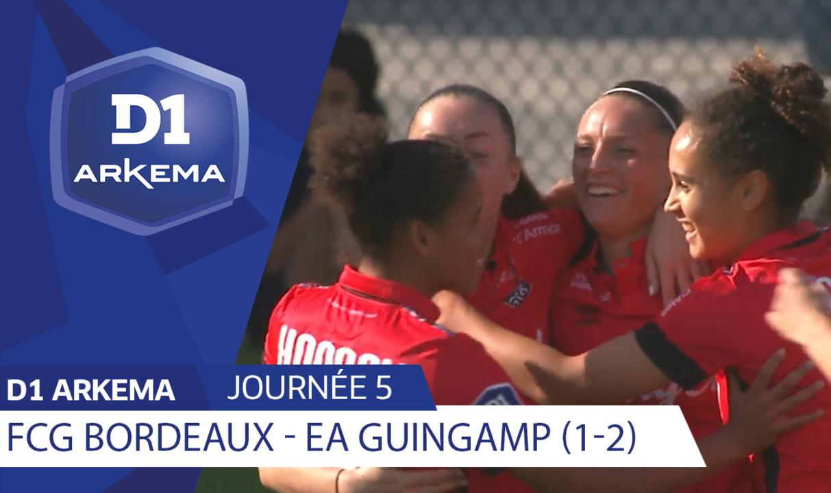J5 | Girondins de Bordeaux - EA Guingamp (1-2)