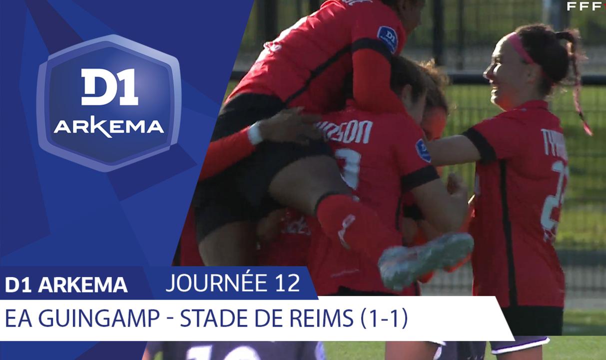 J12 | EA Guingamp - Stade de Reims (1-1)