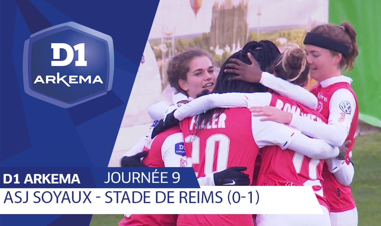 J9 | ASJ Soyaux Charente - Stade de Reims (0-1)