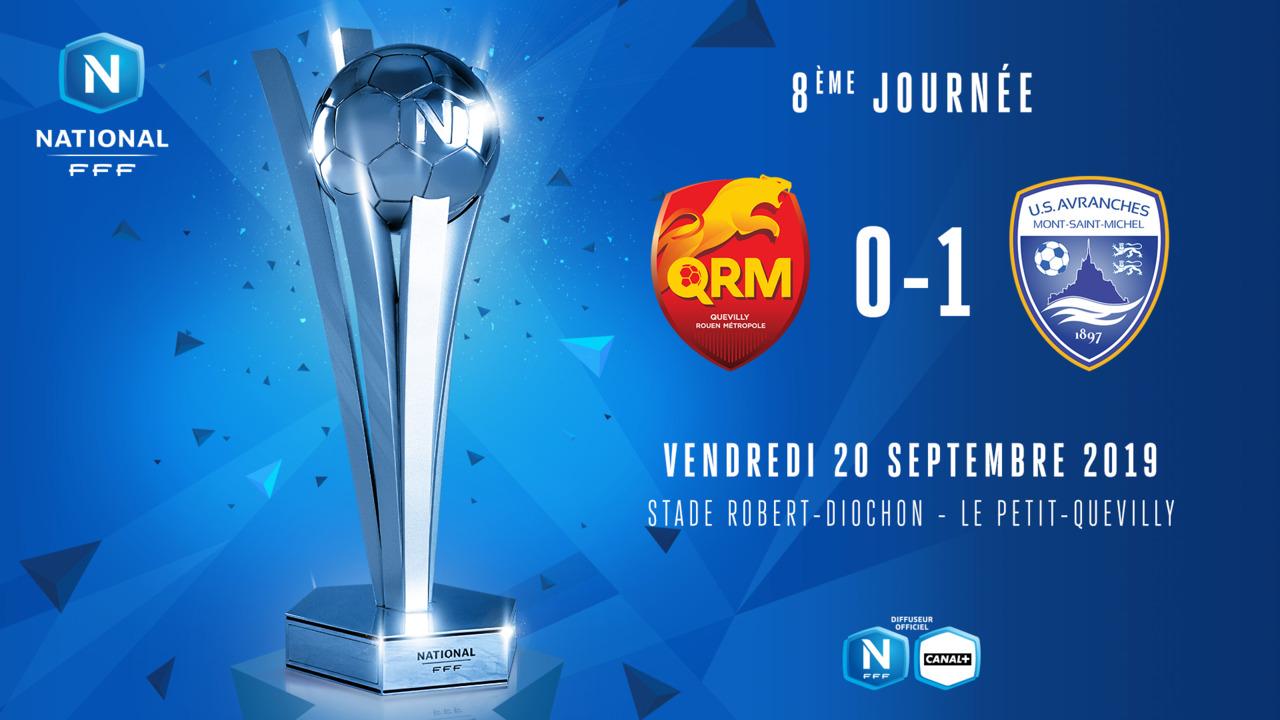 J8 | Quevilly Rouen Métropole - US Avranches MSM (0-1)