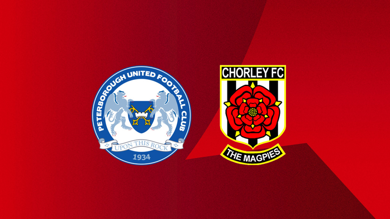 The Emirates Fa Cup Peterborough Utd V Chorley Second Round Bt Sport