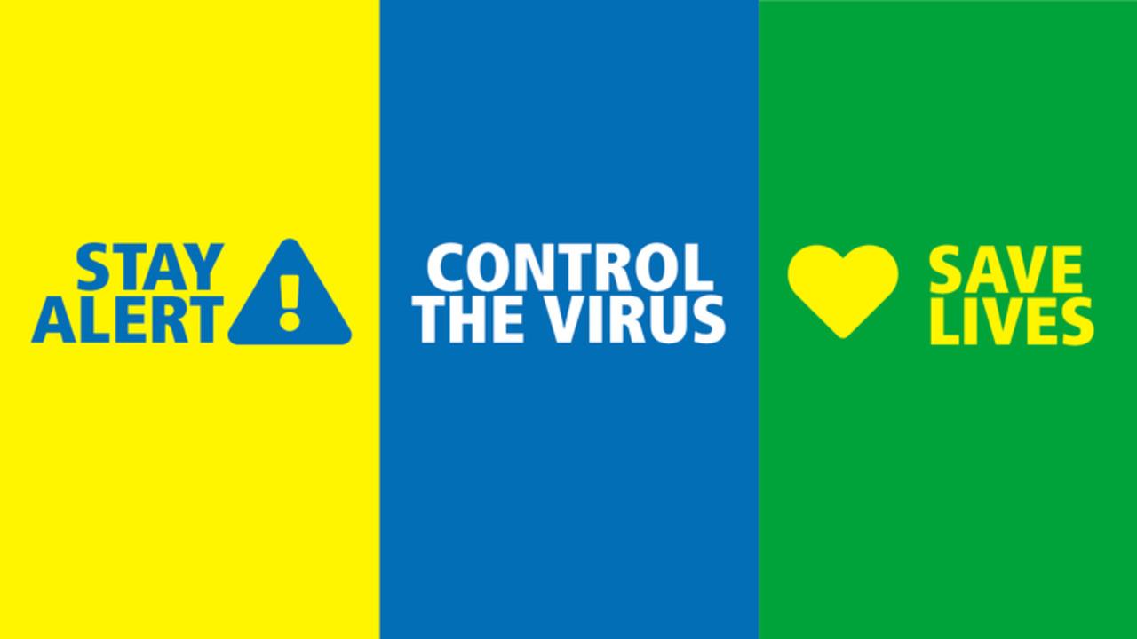 Coronavirus: How the PM's slogans have changed | Politics News | Sky News