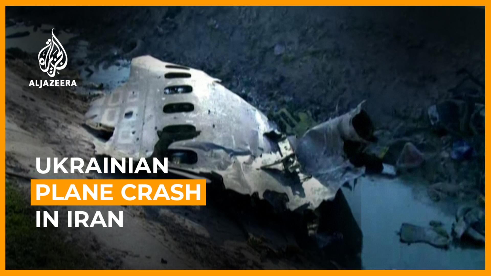 'No survivors': Ukrainian jet crashes in Iran with 176 on board