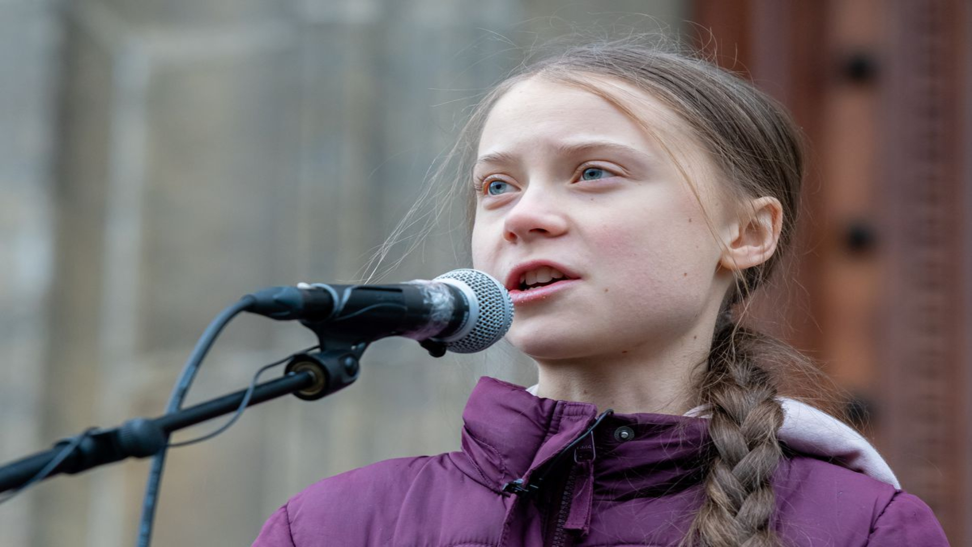 Greta Thunberg challenges world leaders on climate change