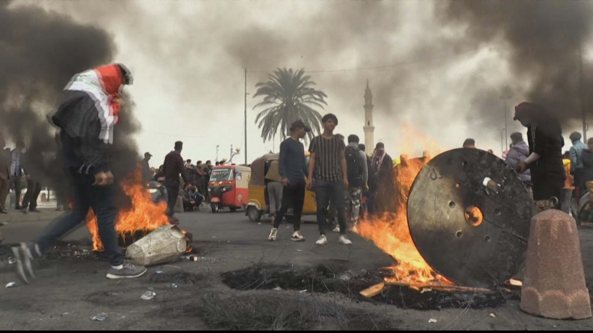 Iraq protests swell with people angry at slow pace of reforms