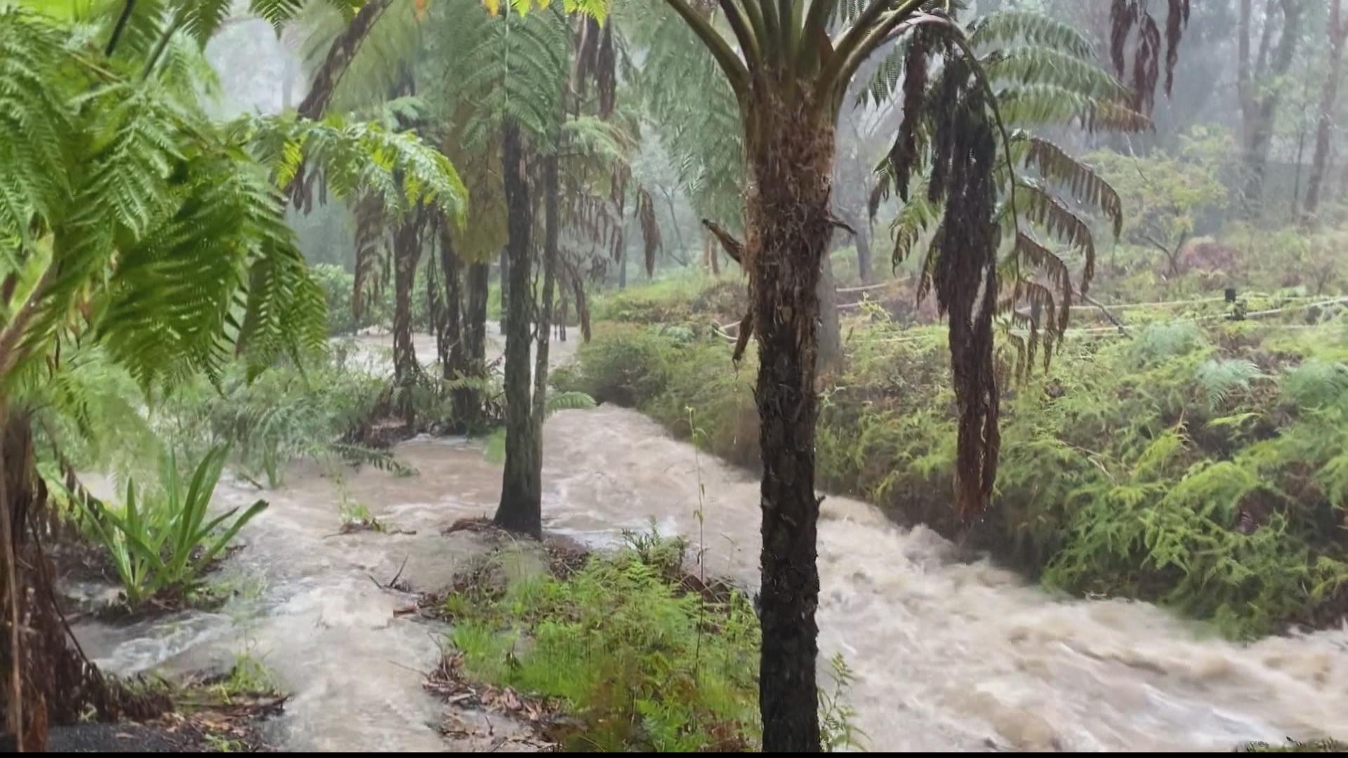 Severe floods in Australia after devastating bushfires