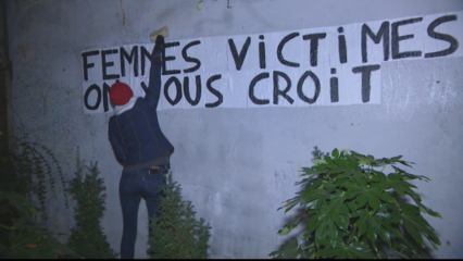 Thousands march in Paris seeking action against domestic violence