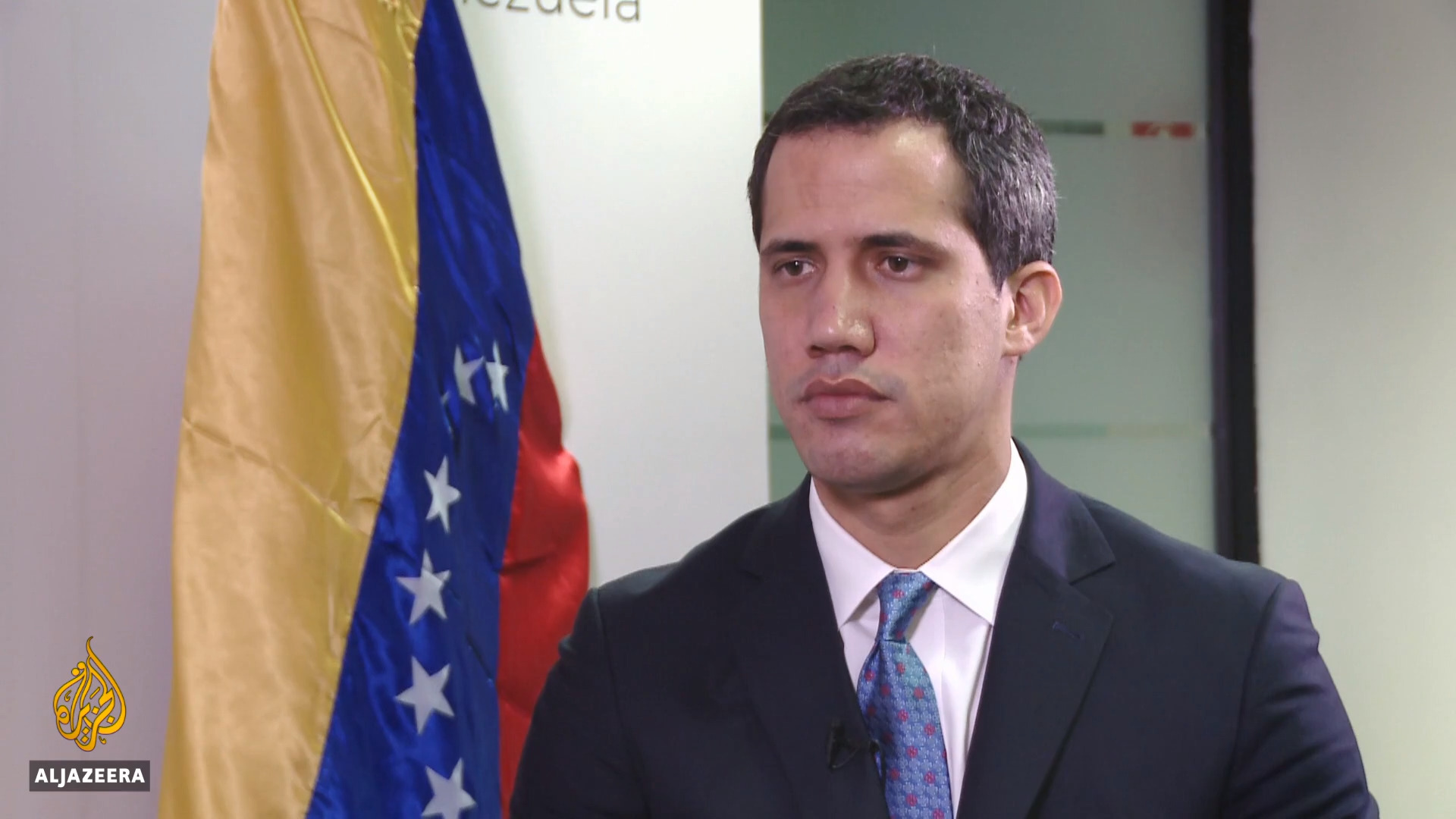 A year on, Guaido's image in trouble as opposition faces cracks
