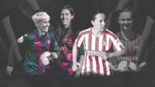 Las estrellas de la liga femenina de fútbol