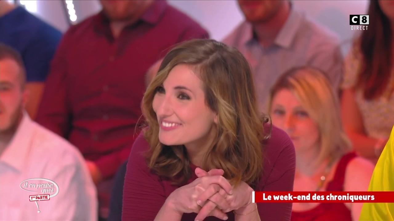 Camille Combal provoque la gêne de Marie Portolano en évoquant sa relation  avec un célèbre humoriste , Programme,TV