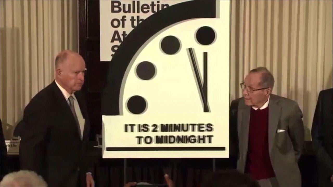 horloge de l apocalypse heure actuelle