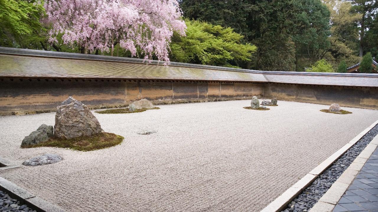 """Photo Jardin Zen Chez Particulier japon : 6 secrets du jardin """"idéal"""" du monastère ryōan-ji de"""