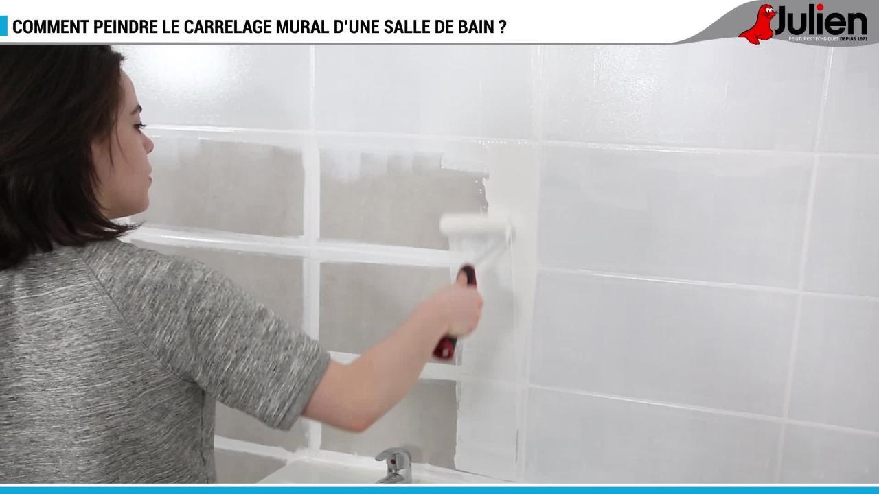 FAC Comment Peindre Le Carrelage Mural De Salle De Bain Ou Cuisine    Bricolage   Maison   Jardin
