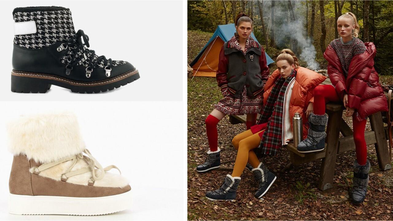 FEMME ACTUELLE Chaussures D'hiver : 12 Modèles Stylés, Chauds Et Tout Doux À Shopper Pendant Les Soldes ! (1)