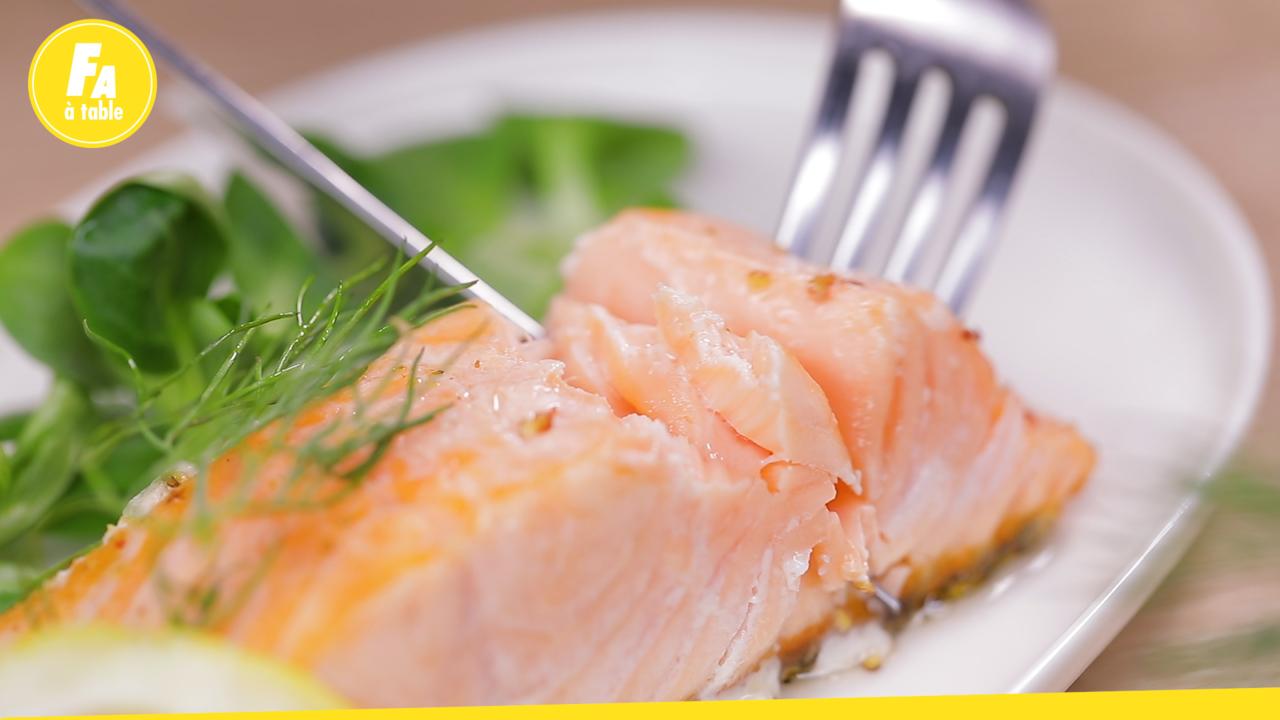 Comment Faire La Couleur Saumon pavé de saumon à la poêle