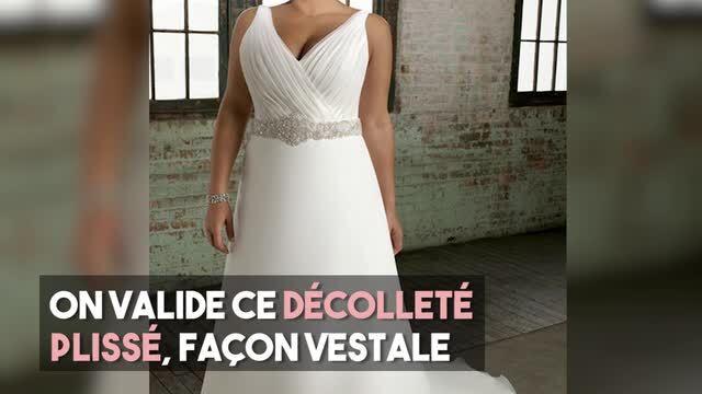 7dc3d631867cf Je suis ronde   30 robes de mariée adaptées à ma morphologie   Femme  Actuelle Le MAG