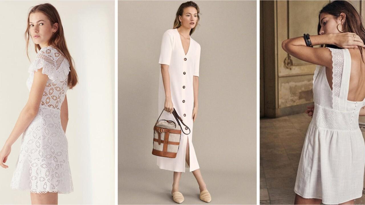 FEMME ACTUELLE La petite robe blanche, l'indispensable de l'été 2019
