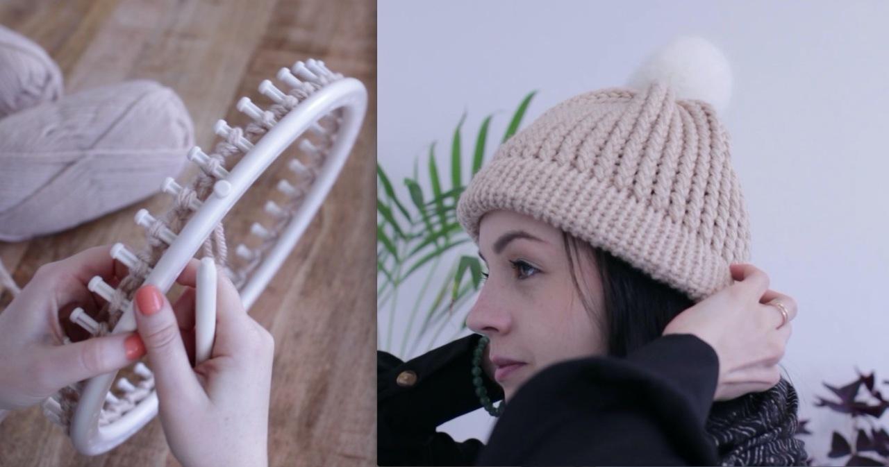 bonnet femme tricotin
