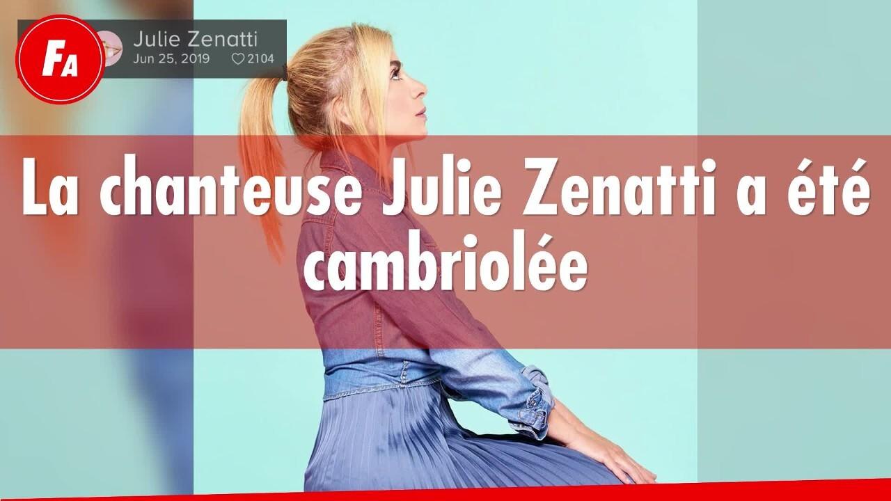FEMME ACTUELLE - La chanteuse Julie Zenatti victime d'un cambriolage à Paris