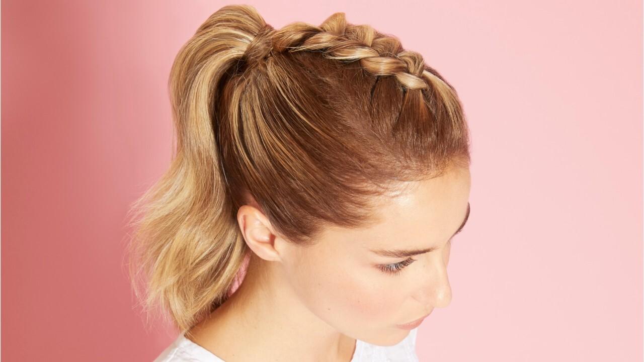 20 coiffures faciles à faire en moins de 10 minutes : femme