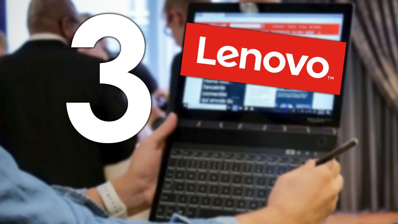 IFA 2018   Lenovo renouvelle son Yoga Book, l astucieux PC aux deux écrans 21a1eb61e373