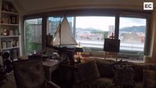 Un 'loft' con vistas en pleno Mazarredo