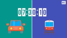 De Getxo a Txurdinaga en transporte público y en coche. ¿Quién llega antes?