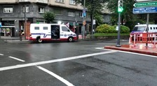 Gran despliegue policial por los incidentes en la protestas por un mitin de Vox en Bilbao