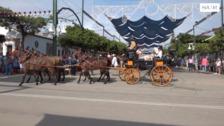 El XXXVIII Concurso de Enganches se estrena en el Real de la Feria de Málaga