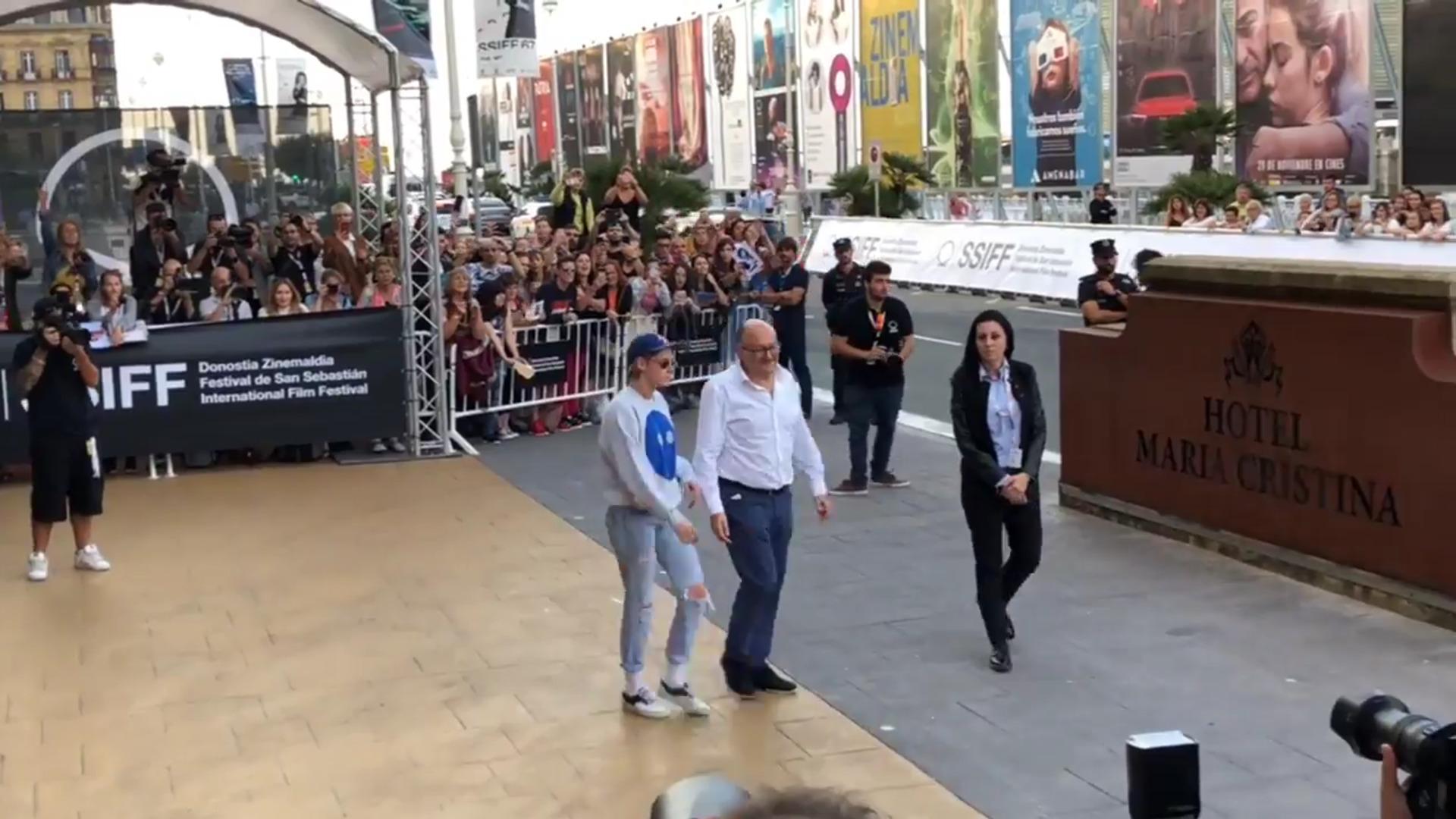 Kristen Stewart llega a Donostia