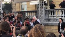 Donald Sutherland llega al Zinemaldia