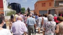 El 'Eusko Gudariak' en una procesión en Guadalajara