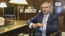 Entrevista al alcalde de Badajoz, Francisco Javier Fragoso