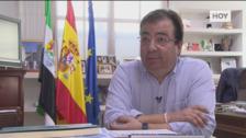 Entrevista al presidente de la Junta de Extremadura, Guillermo Fernández Vara