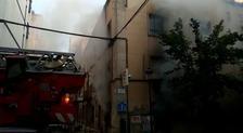Incendio en la sede de UGT en Cáceres